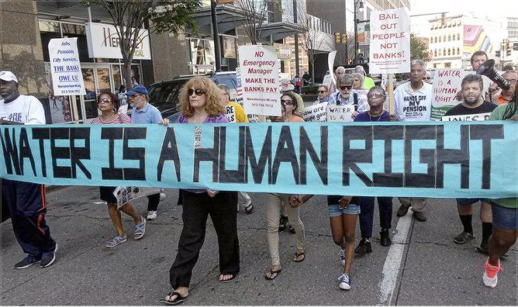 A National Call to Link Arms for Detroit: Stop the Water