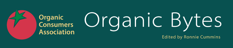 Organic Bytes edited by Katherine Paul and Ronnie Cummins