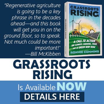 Order Ronnie's New Book: Grassroots Rising