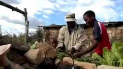 How to Make a Keyhole Garden - Lesotho Style