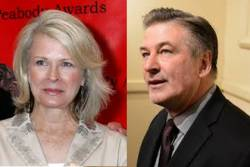 Composite photo of Alec Baldwin and Candice Bergen