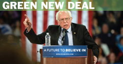 Bernie's Green New Deal.