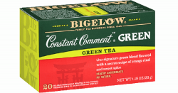 box if Bigelow brand Constant Comment tea