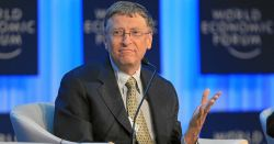 Bill Gates at the World Economic Forum 2013