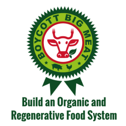 Logo of Boycott Big Meat Build an Organic and Regenerative Food System