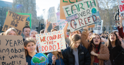 Climate protest.