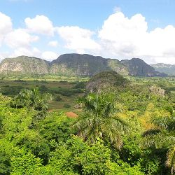 Cuban mountain landscape