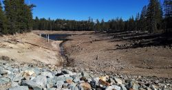low water line in california drought