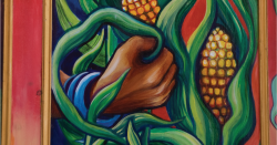 Painting of corn.