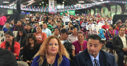 photo of attendees at Migrant Summit in Guatemala
