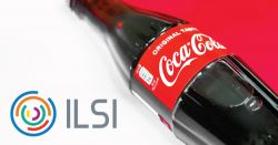 International Life Sciences Institute's logo and a Coca-Cola bottle.