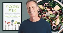 Dr. Mark Hyman and his new book, 'Food Fix'.