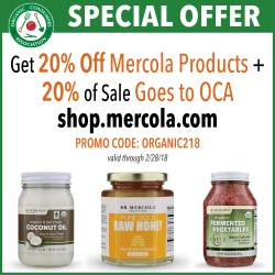20% off Mercola products