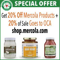 February Mercola products advertisement