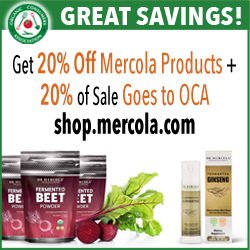 Mercola ad for March 2018