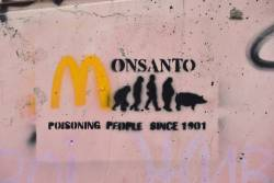 Monsanto graffiti