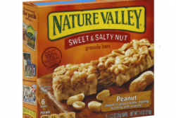 Box of Nature Valley Sweet and Salthy Nut granola bars