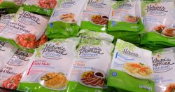 bags of Natures Promise brand foods including the FREE FROM line
