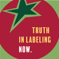 OCA logo with text TRUTH IN LABELING NOW