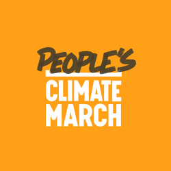 People's Climate March logo