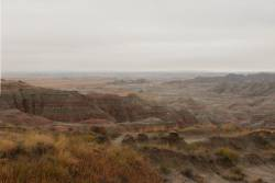 Badlands in the northern portion of Pine Ridge Indian Reservation