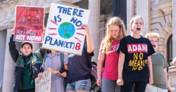 Climate rally.