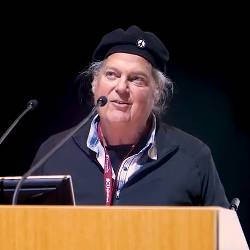 Ronnie Cummins speaking at the Living Soils Symposium in 2017