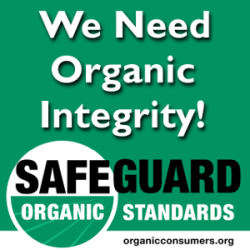 Safeguard Organic Standards