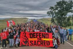 Collective action at Standing Rock to defend the sacred