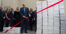 Trump cutting 'red tape'