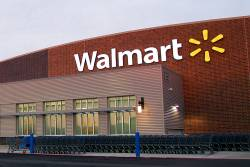 Walmart store building seller of wageslave made goods