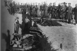mass grave at wounded knee massacre