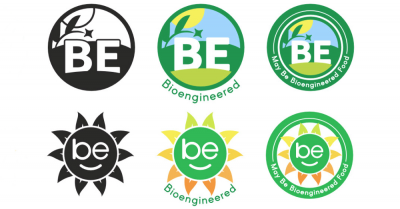 Examples of proposed USDA 'bioengineered' labels for food