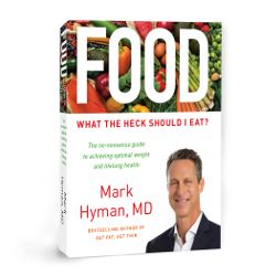 cover of Dr Mark Hymans book Food What the Heck Should I Eat