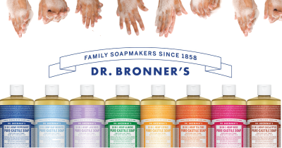 Dr. Bronner's Soaps.
