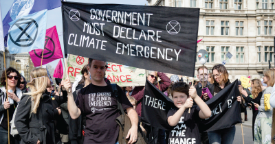 Climate protest,