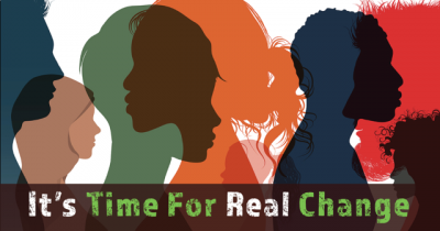 Its time for real change