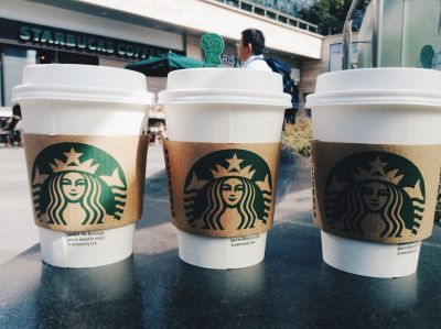 Starbucks, coffee cup