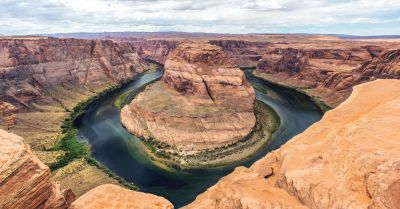 Horseshoe Bend of the Colorado River in Arizona