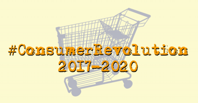 Consumer Revolution shopping cart