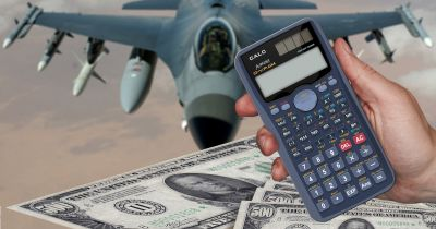 calculating cost of military equipment