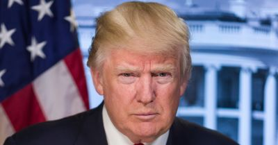Donald Trump official White House portrait