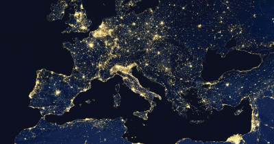 Lights in Europe.