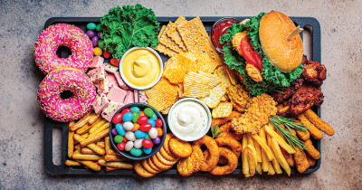 Donuts and other junk food.