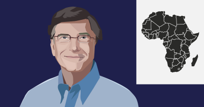 Bill Gates and Africa.