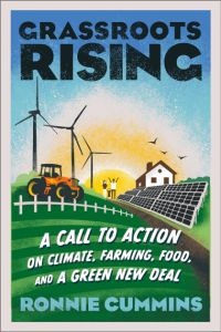 cover to the book Grassroots Rising by Ronnie Cummins