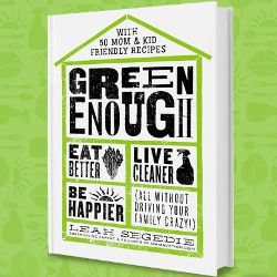 book cover for Leah Sedgies Green Enough