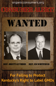 WANTED: Rep. Guthrie & Rep. Whitfield from KY