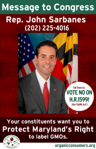Rep John Sarbanes From MD