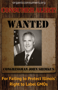 WANTED: Rep. John Shimkus from IL